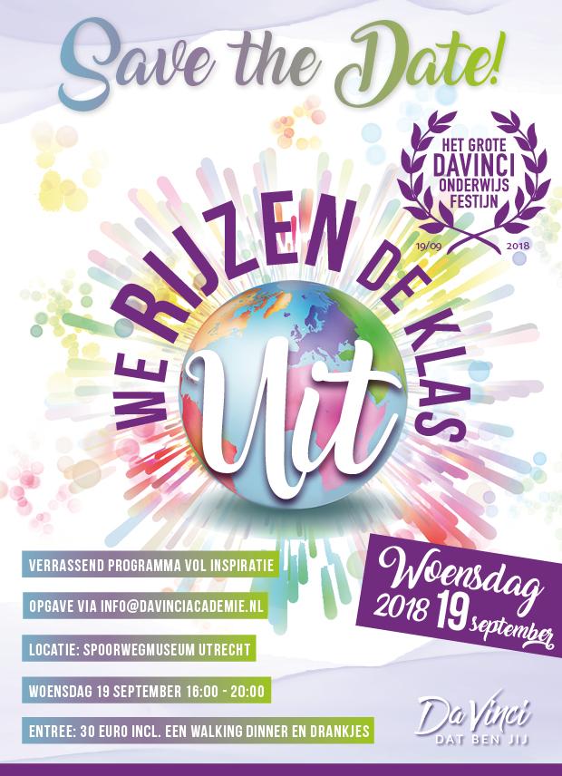 DV21.1 - Onderwijsfestijn 2018 promo save the date