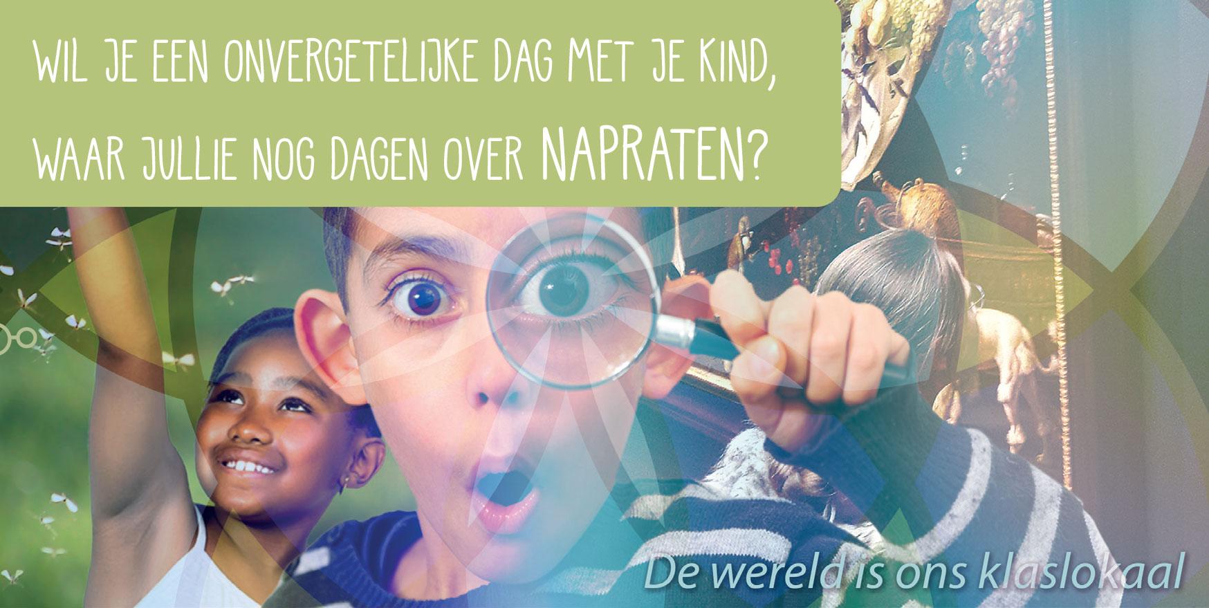 Grootouder en kind dag Amsterdam en Utrecht