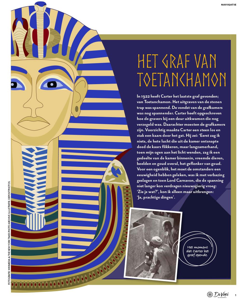 Magazine over de Egyptenaren voor basisscholen