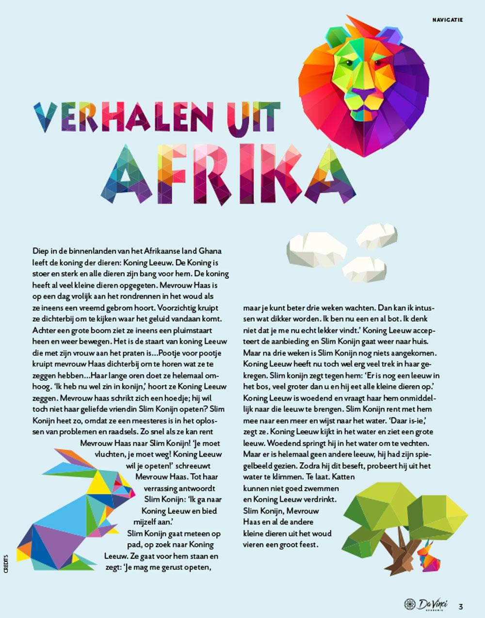 Magazine over de Egyptenaren voor basisschool leerlingen en ouders