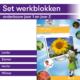 Thematisch leren met DaVinci's onderwijsmethode voor basisscholen | Set werkblokken onderbouw