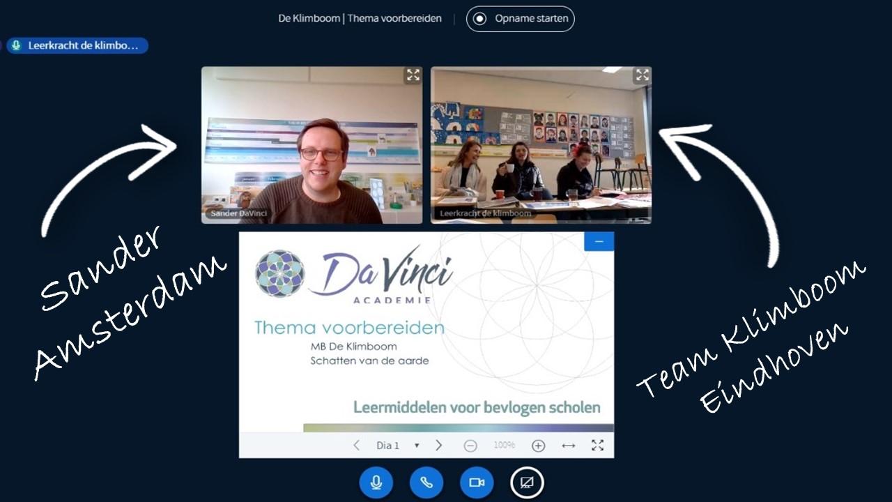 Online webinar ipv DaVinci dag voor basisschool leerkrachten