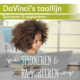 DaVinci's taallijn voor basisscholen, Spioneren en rapporteren