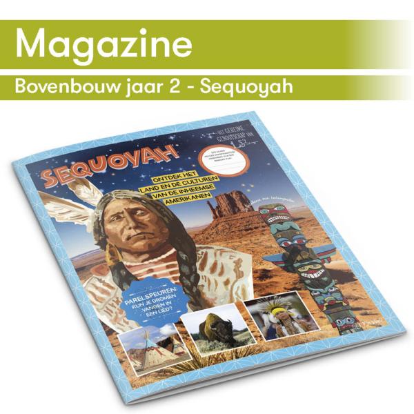 DaVinci's taallijn maakt gebruik van thema-magazines zoals het Sequoyah magazine