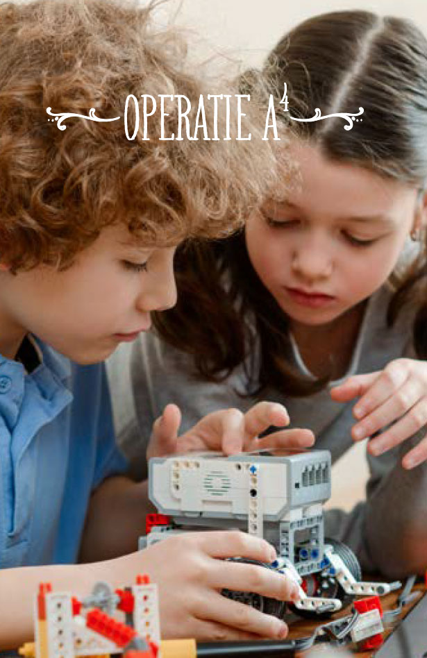 Operatie A4 RetoricA, logicA, digitale mediA & roboticA